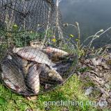 Рибалка в Львівській області на озері в с. Гаї 26.04.13