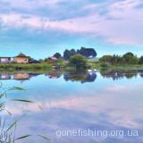 Озеро в селі Бортнів