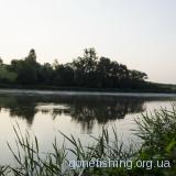 Рибалка на озері в с. Гаї 21.06.12