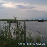 Озеро в селі Космівка поблизу міста Нововолинськ