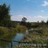 Річечка, що впадає в Оселю 14.09.2011