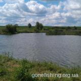 Озеро в селі Дарницьке