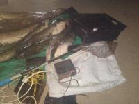 затримано браконьєрів з електровудкою