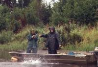 Комарі на рибалці