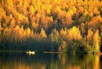 Осінь на водосховищі