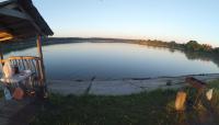 КАРП НА ПЕЧЕНУЮ КАРТОШКУ, ГОРОХ И СНОП ЧЕРВЕЙ - спонтанная рыбалка на новом озере