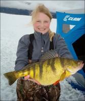Новий світовий рекорд з ловлі жовтого окуня з льоду