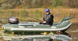 Надувний човен для риболовлі
