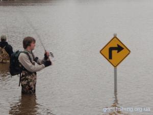Ловля риби на розливах