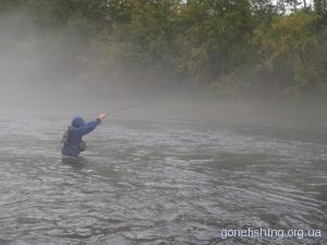 Ловля риби в період рясних дощів та водопілля