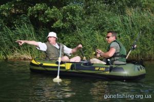 Ловля риби з човна