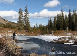 Ловля риби на спінінг на початку весни (частина 1)