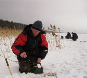 Зимова ловля риби на безмотильну мормишку