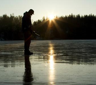 Основи зимової ловлі на чортик або